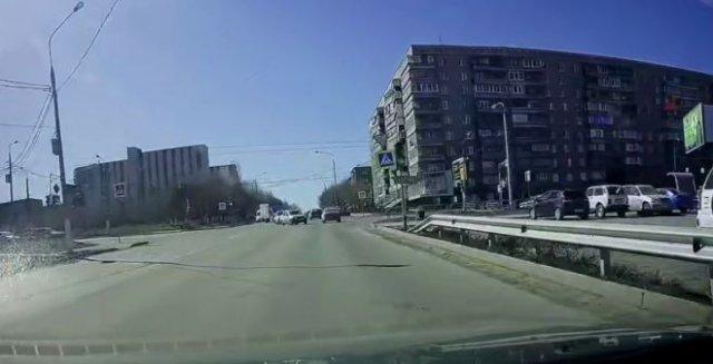 Обычный день на российских дорогах