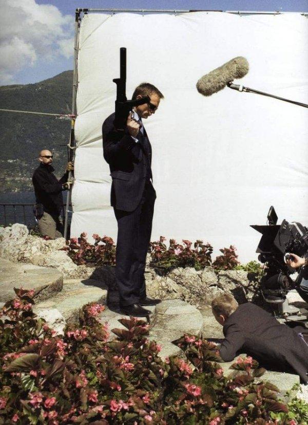 Съёмки последних сцен «Казино «Рояль»