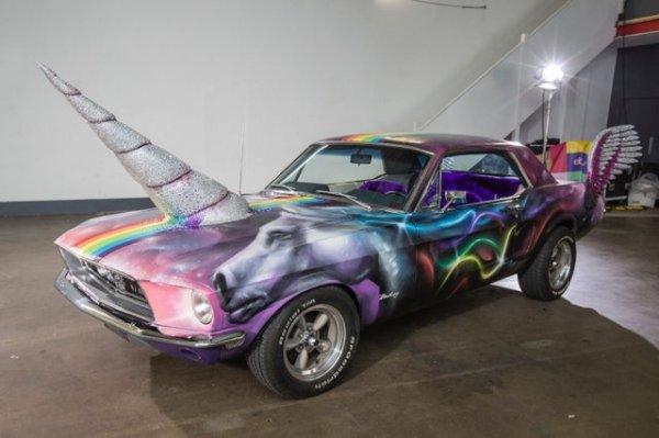 Автомобиль-единорог Ford Mustang 1968 года