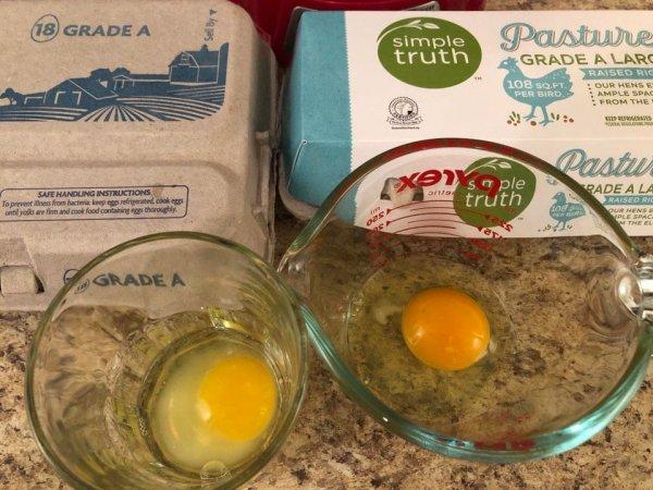 Разница между дешёвыми и дорогими яйцами