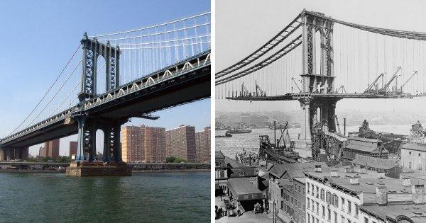 Манхэттенский мост, Нью-Йорк