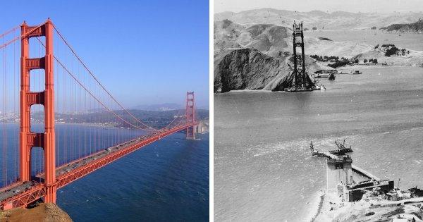 Мост Золотые Ворота, Сан-Франциско, США