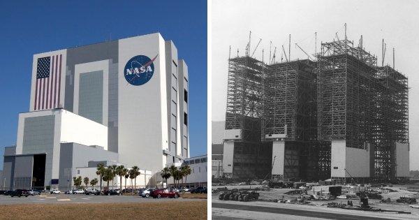 Здание вертикальной сборки, Космический центр им. Кеннеди НАСА, мыс Канаверал, США