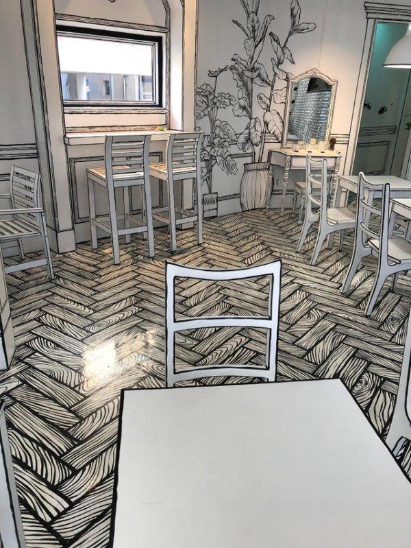 2D-кафе, которое мы посетили в Сеуле