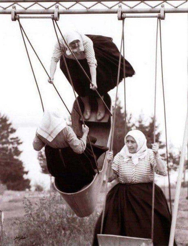 Старость. Словакия, 1966 г.