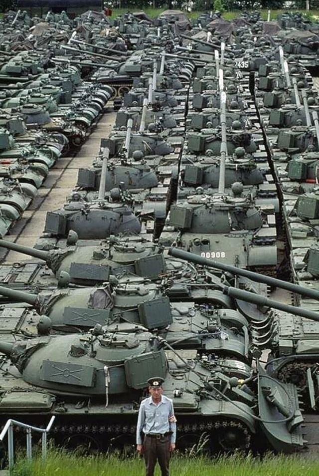 Танки Т-55 народной национальной армии ГДР
