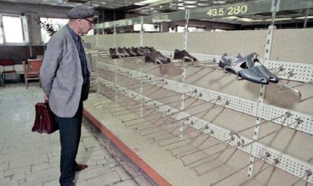 Универмаг «Московский», Москва, 1990 год.
