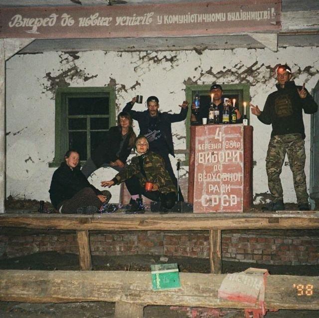 Сталкеры в Чернобыле, 1998 год