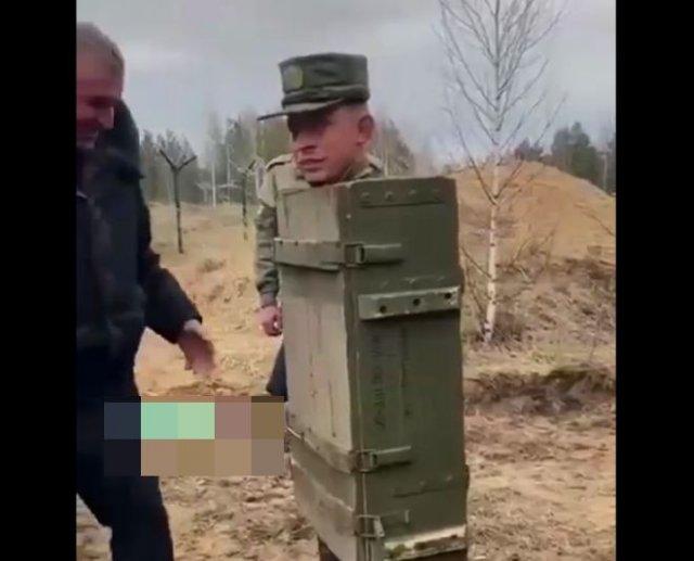 Новая армейская разработка, решающая проблему с пьяными солдатами