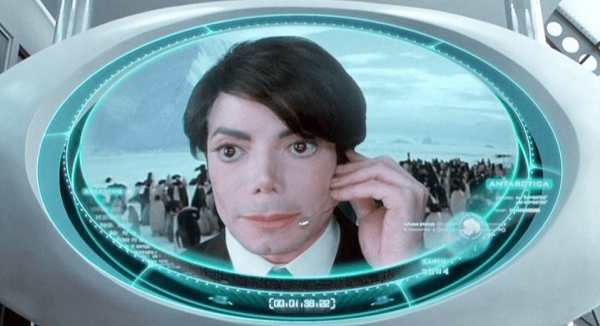 Майкл Джексон, «Люди в чёрном 2»