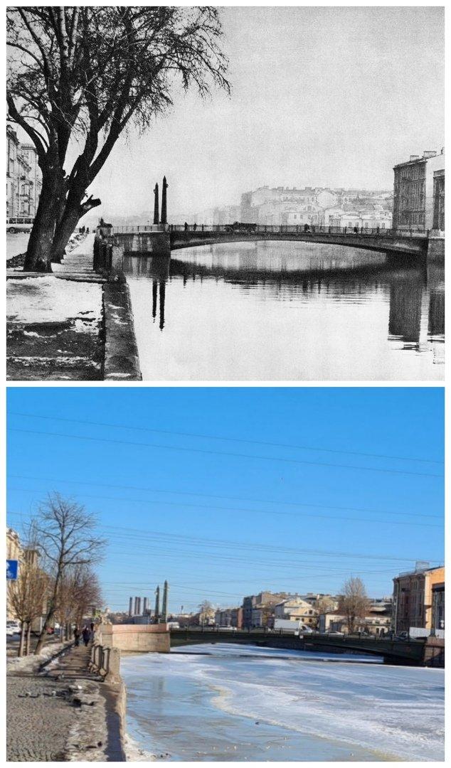 Египетский мост1971 и 2021