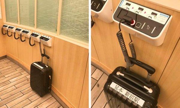Противоугонная система для чемоданов