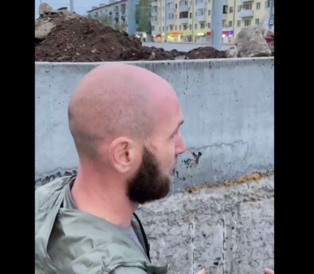 """""""Водный"""" пешеходный переход в Самаре"""