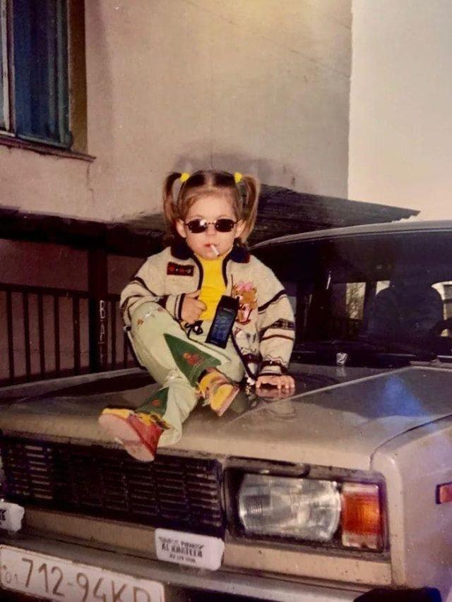 Представление о крутости в 90-х.
