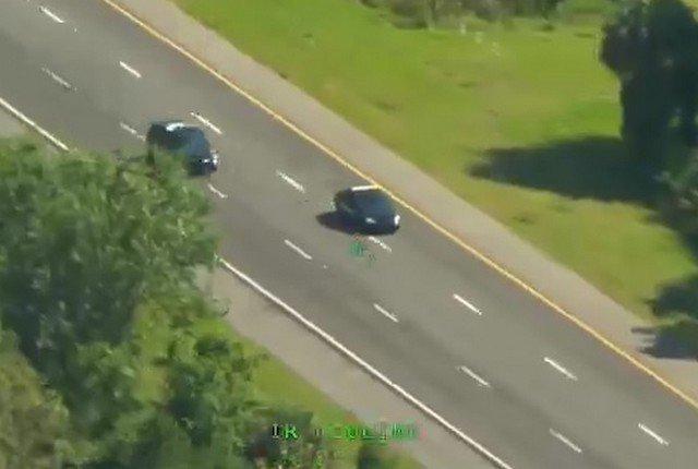 Бандит из Флориды угнал две полицейские машины за одну погоню