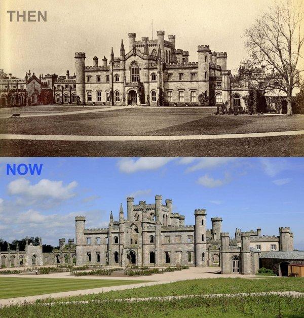 Замок Лоутер Касл, Англия