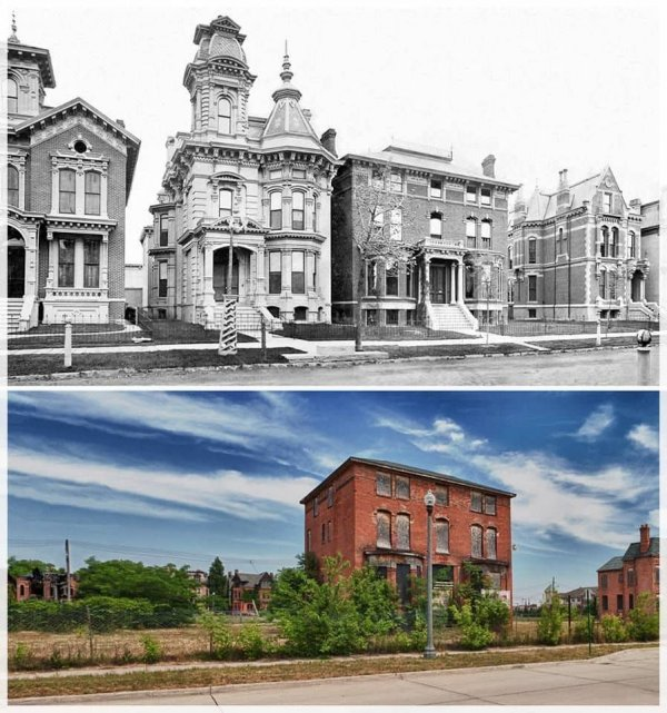 Дом Джеймса Кэмбелла, Детройт