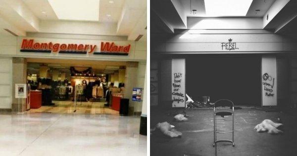 Этот торговый центр был заброшен 6 лет назад