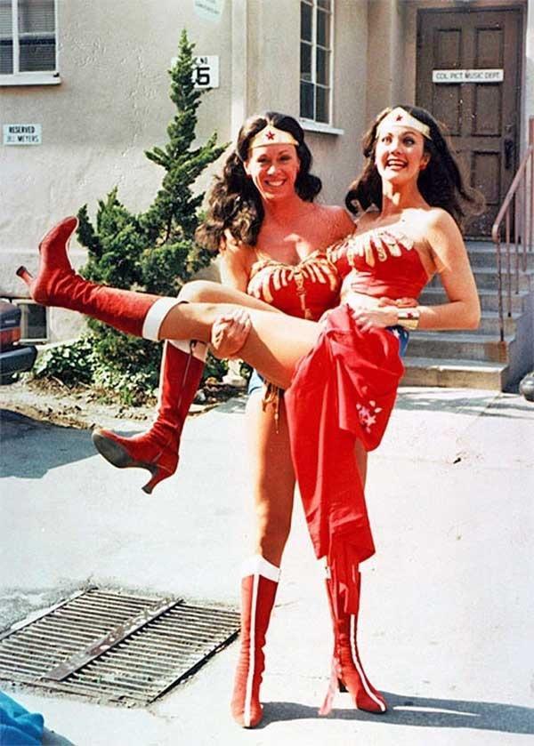 Две Чудо-женщины — актриса и дублёрша
