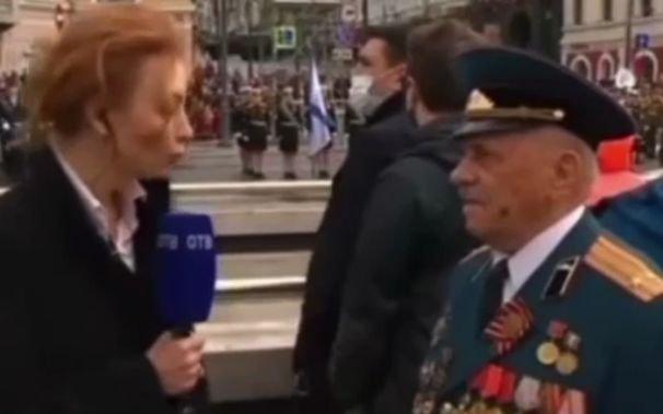 Репортер прервала ветерана, не дав ему договорить, чтобы дать слово губернатору