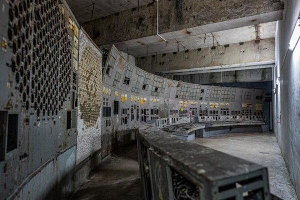 Диспетчерская Чернобыльской АЭС в марте 2020-го