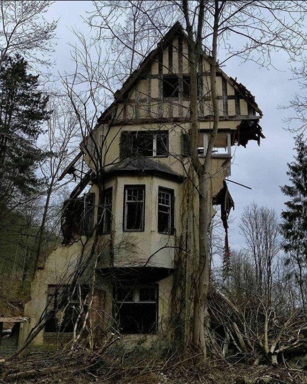 Заброшенный дом, точнее то, что от него осталось