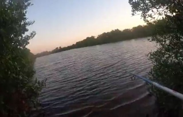 Неожиданная опасность во время рыбалки