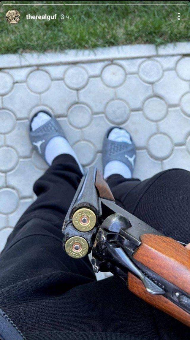 Алексей Долматов - Guf - опубликовал в Instagram сомнительный пост в поддержку родственников погибших при стрельбе в Казани (2 фото)