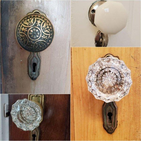 В нашем доме сохранились все оригинальные дверные ручки 1928 года