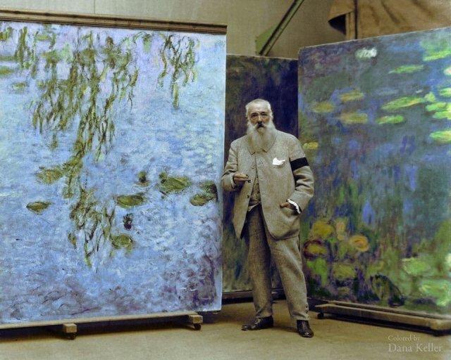 Клод Монэ. Картинная галерея, 1923 год