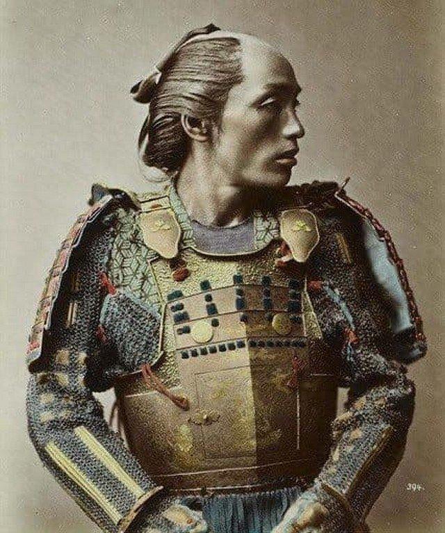 Самурай, Йокогама, 1880-е годы.