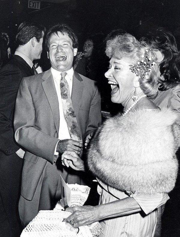 Робин Уильямс и его мать Лори МакЛорин