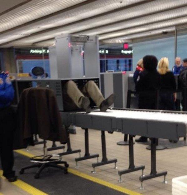 Аэропорт как возможность сделать рентген бесплатно