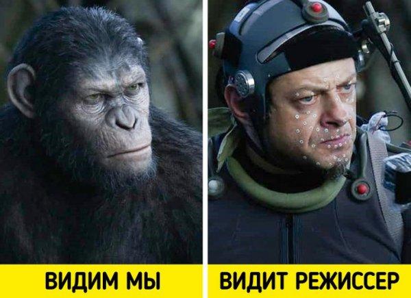 За воплощение героев в фильме «Планета обезьян: Революция» создатели получили заслуженный «Оскар»