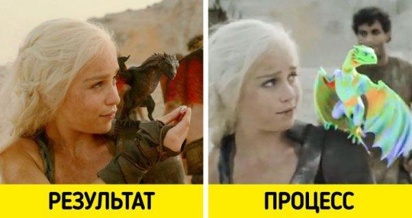 Вот как художники «выращивали» драконов Дейенерис