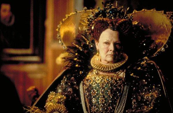 8 минут — Джуди Дэнч в фильме «Влюблённый Шекспир» (1998)