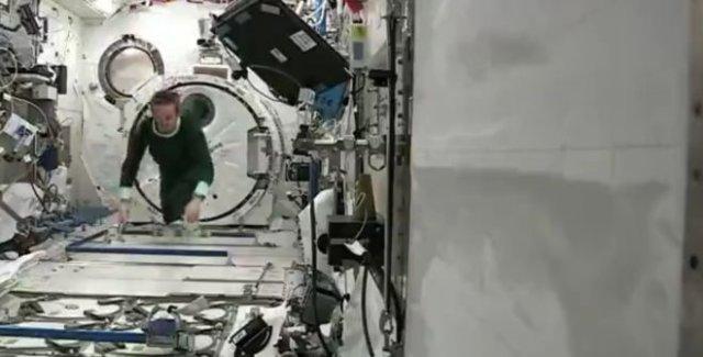 Как спят космонавты на МКС