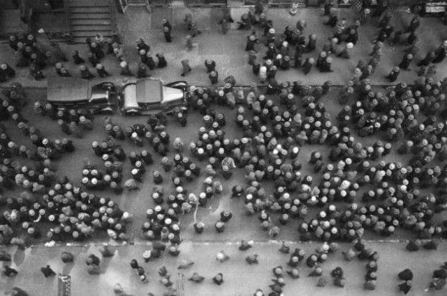 Мода на шляпы. Нью-Йорк, 1939 год