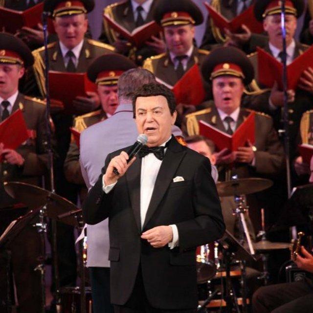 Иосиф Кобзон на концерте
