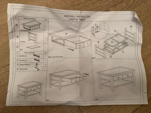 Думаете, собрать стол — это сложно? Вовсе нет