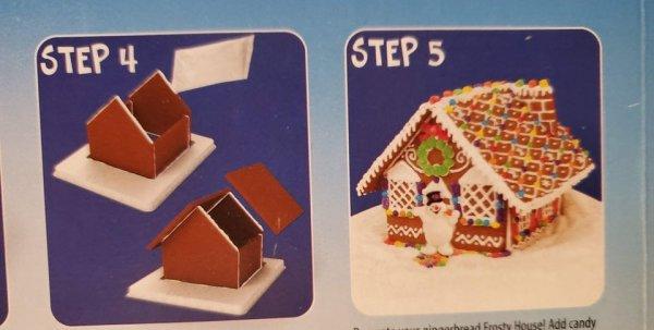 Как сделать красивый пряничный домик