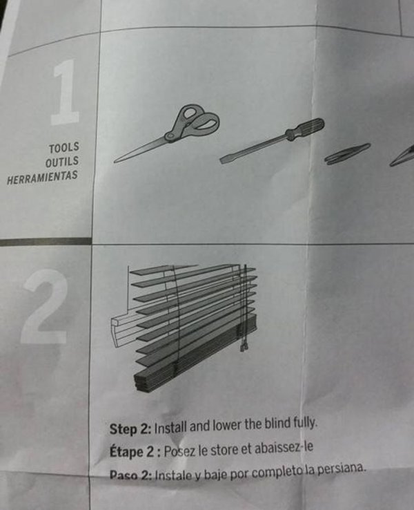Шаг 1: Подготовьте инструменты. Шаг 2: Соберите и установите жалюзи