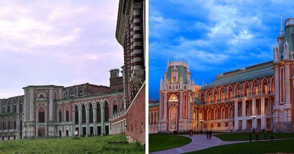 Восстановление Большого Царицынского дворца, Москва