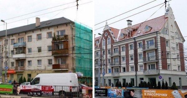 Советские многоквартирные дома в Калининграде