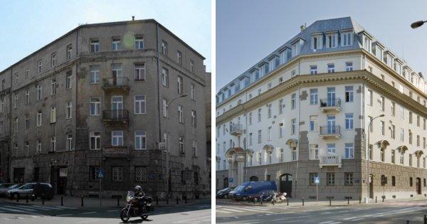 Заброшенные здания до и после их восстановления