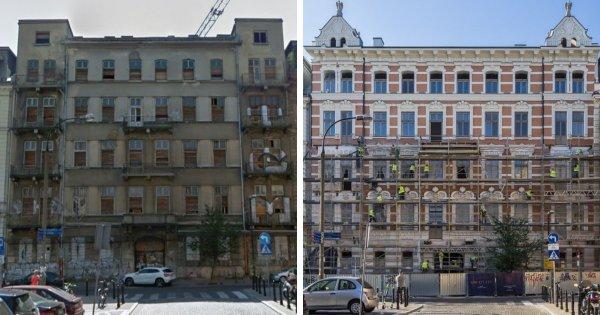 Восстановление старого дома в Варшаве
