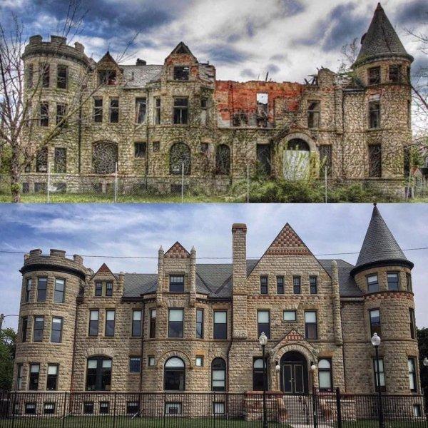 Недавно отремонтированные и вновь открытые апартаменты в центре Детройта