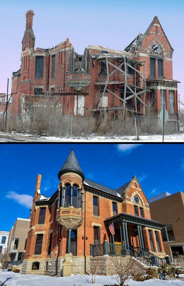 Дом Рэнсома Гилла, Детройт