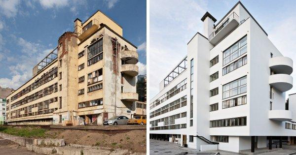 Дом Наркомфина, Москва: до и после реставрации