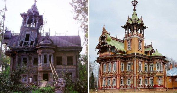 Восстановление терема Асташово, Костромская область
